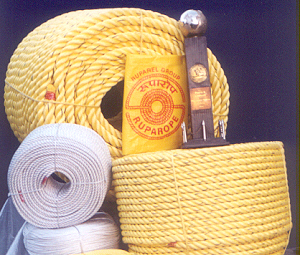 Exporter in India offers PP Ropes, Polypropylene, PE, Synthetic, Plastic, Marine, HDPE ropes.